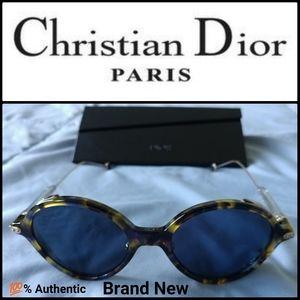 🆕 CHRISTIAN DIOR Umbrage Round Sunglasses